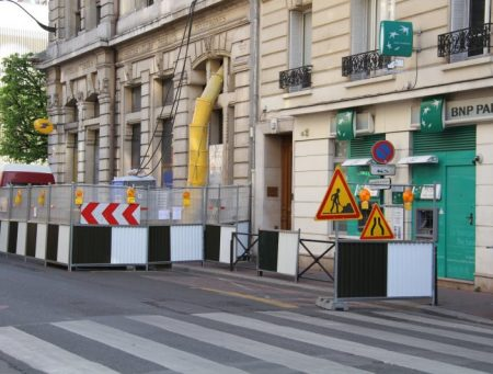 chantier rue